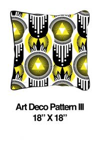 Art Deco Pattern Yellow